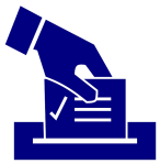 ballot box graphic